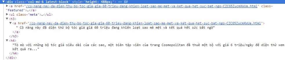 Sử dụng thư viện Jsoup bóc HTML trong android - www
